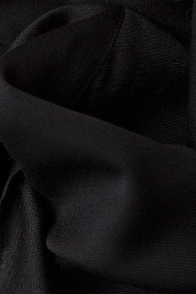 Pantalon évasé en laine Izabela Mandoiu image 4