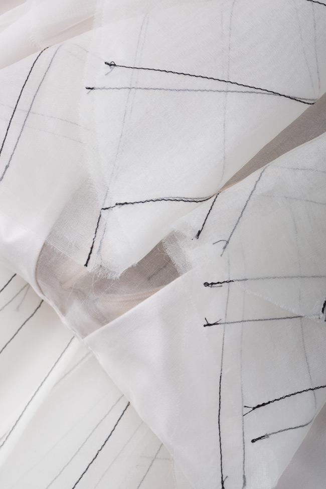 Chemise en soie de style Victorien LUWA image 4