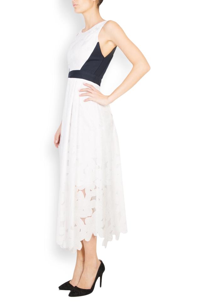 Robe asymétrique en coton Izabela Mandoiu image 1