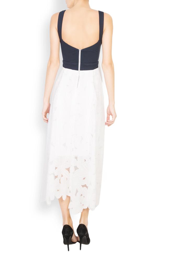 Robe asymétrique en coton Izabela Mandoiu image 2