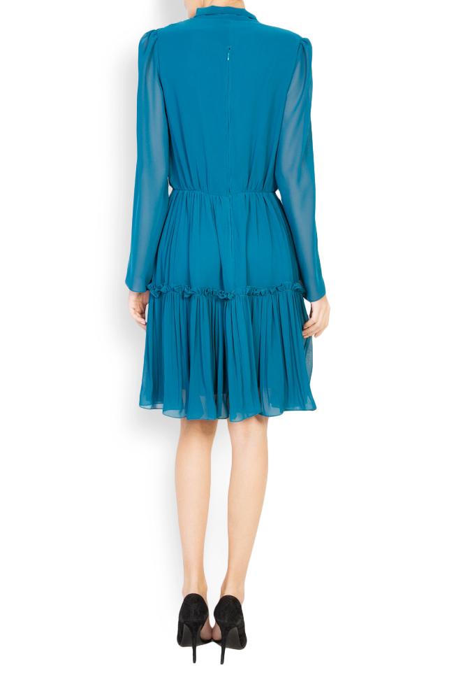 Naty bow-embellished georgette mini dress Maia Ratiu image 2