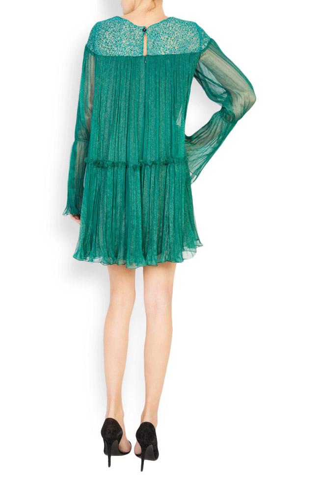 Boema lace-embroidered silk mini dress Maia Ratiu image 2