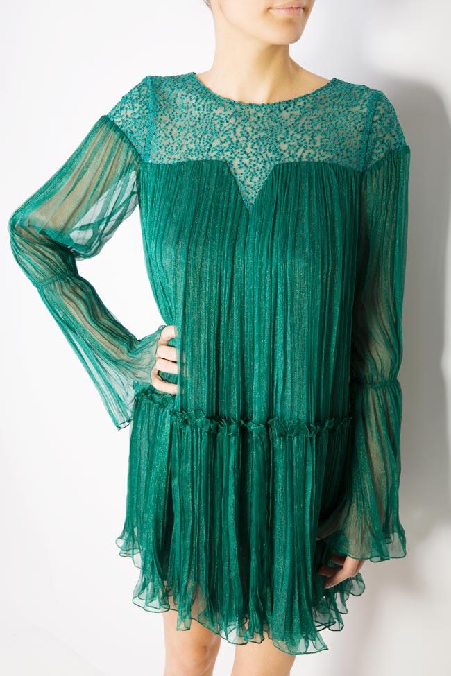Boema lace-embroidered silk mini dress Maia Ratiu image 3