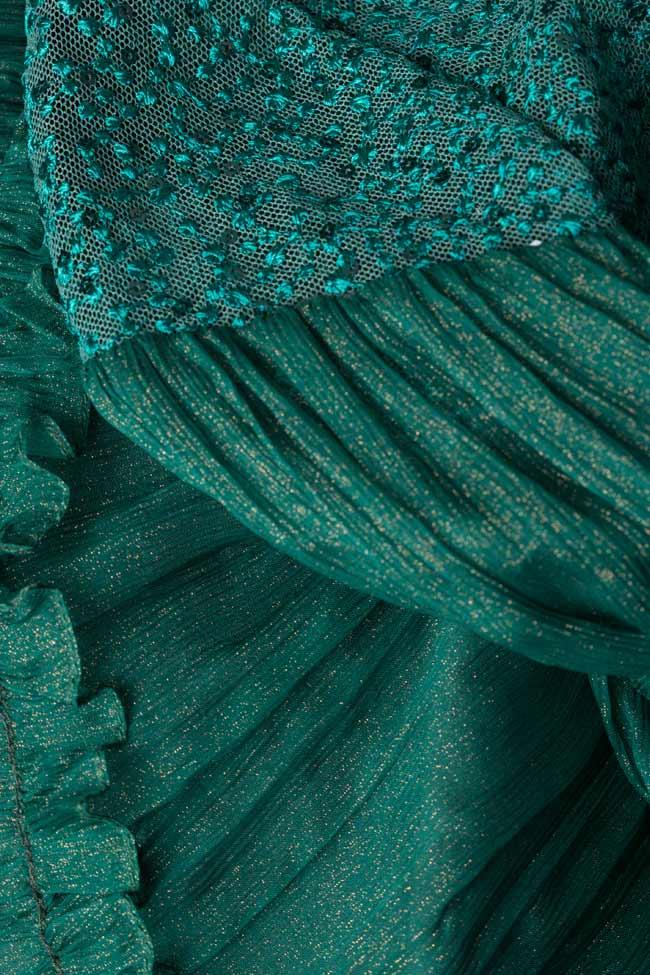 Boema lace-embroidered silk mini dress Maia Ratiu image 4
