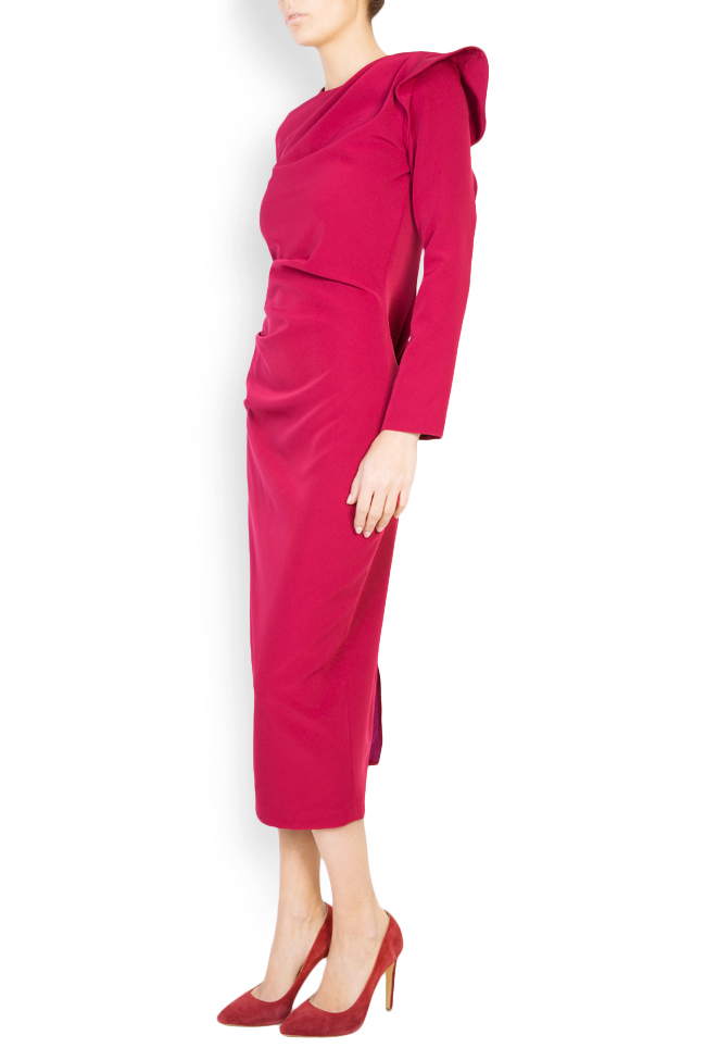 Flavia crepe pencil midi dress  Maia Ratiu image 1