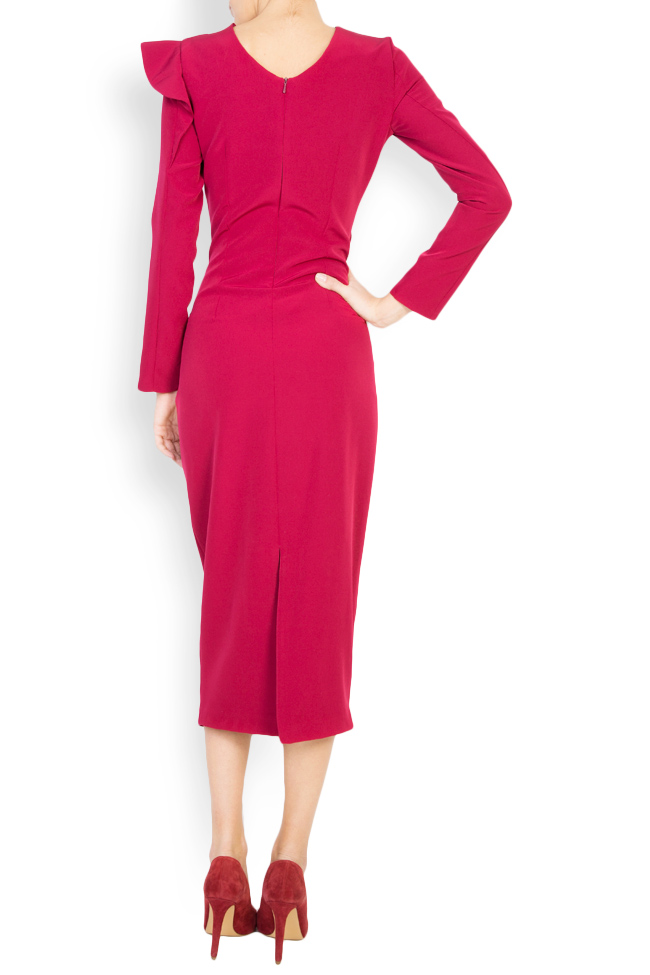 Flavia crepe pencil midi dress  Maia Ratiu image 2