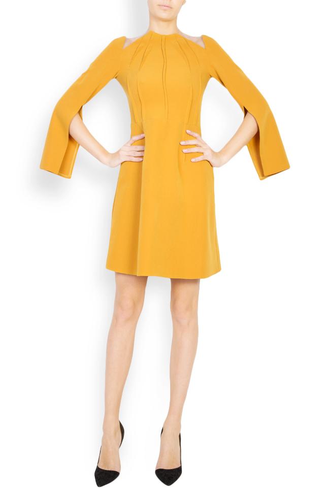 Daria cutout crepe mini dress Maia Ratiu image 0