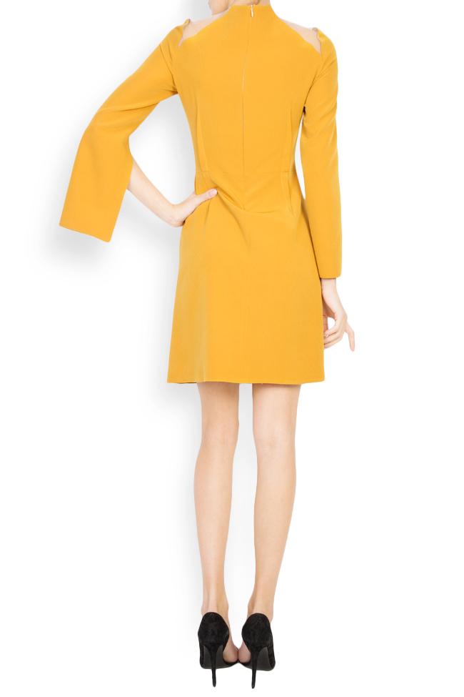 Daria cutout crepe mini dress Maia Ratiu image 2