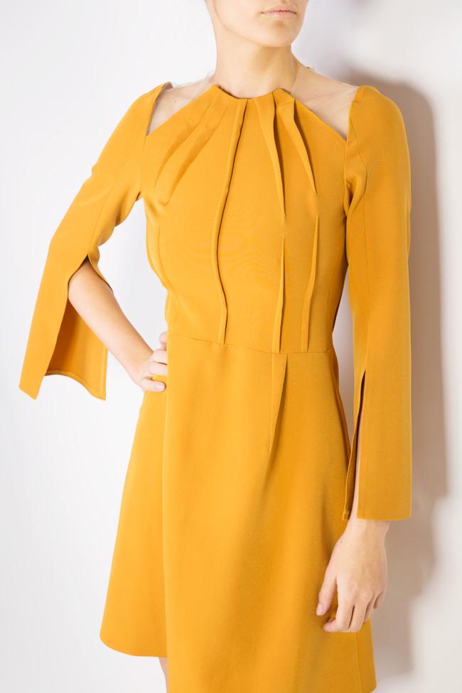 Daria cutout crepe mini dress Maia Ratiu image 3
