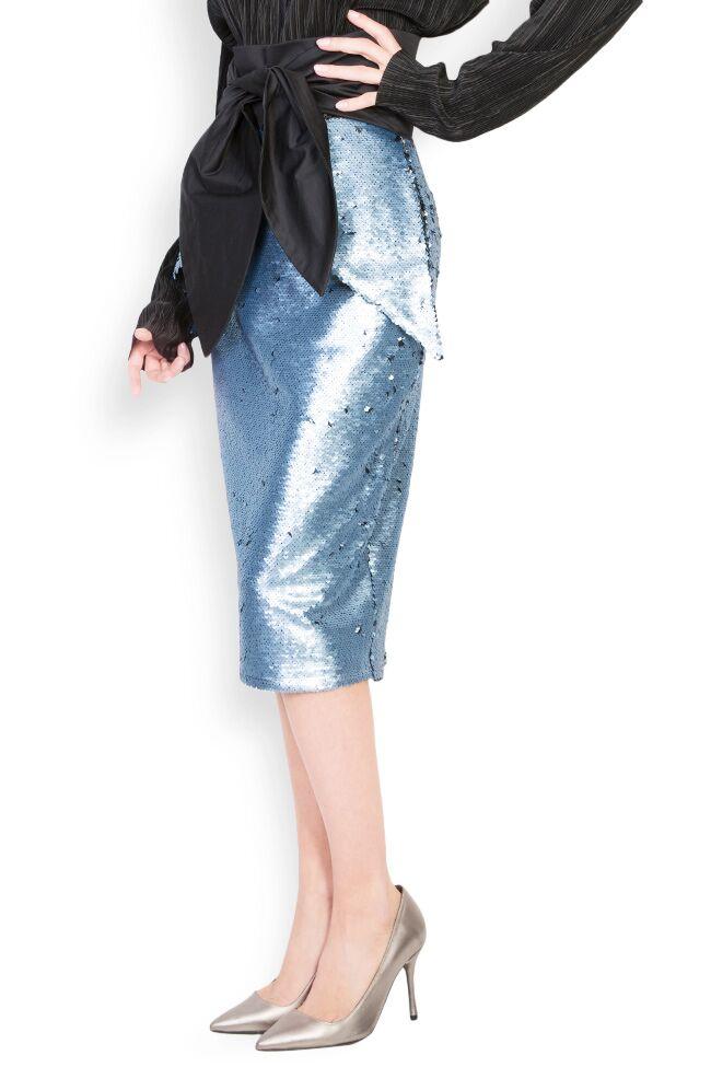 Daring sequined midi skirt DALB by Mihaela Dulgheru image 1