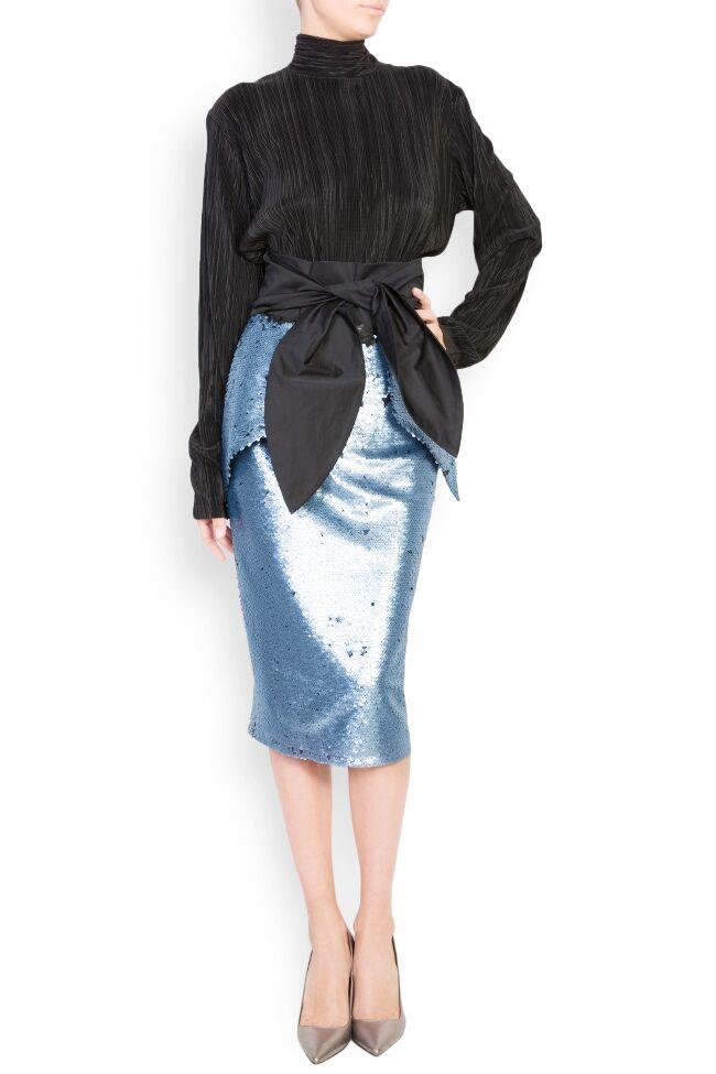 Daring sequined midi skirt DALB by Mihaela Dulgheru image 0