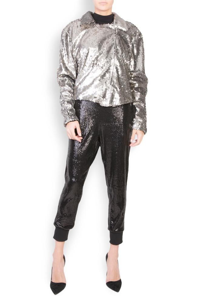 Akary sequined tulle jacket Shakara image 0