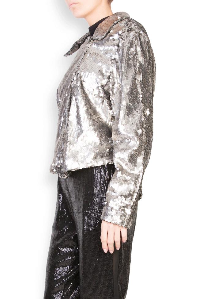 Akary sequined tulle jacket Shakara image 1