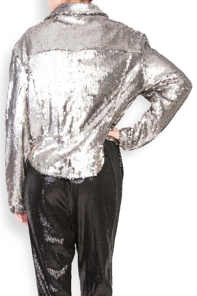 Akary sequined tulle jacket Shakara image 2