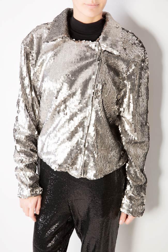 Akary sequined tulle jacket Shakara image 3