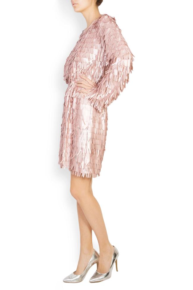 Sequinned tulle mini dress Bluzat Cocktail image 1