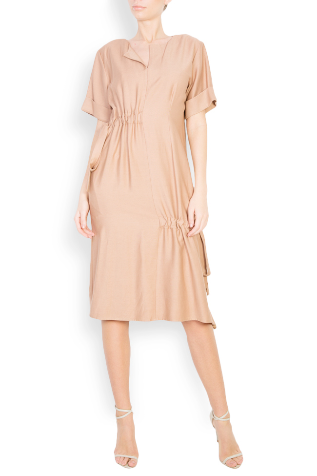 Asymmetric midi dress Bluzat image 0