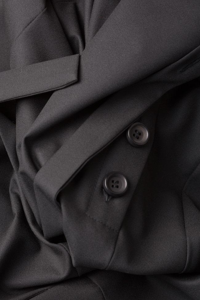 Asymmetric cotton-blend jumpsuit Bluzat image 4