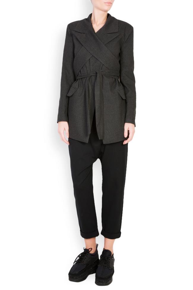 Belted wool blazer Bluzat image 0