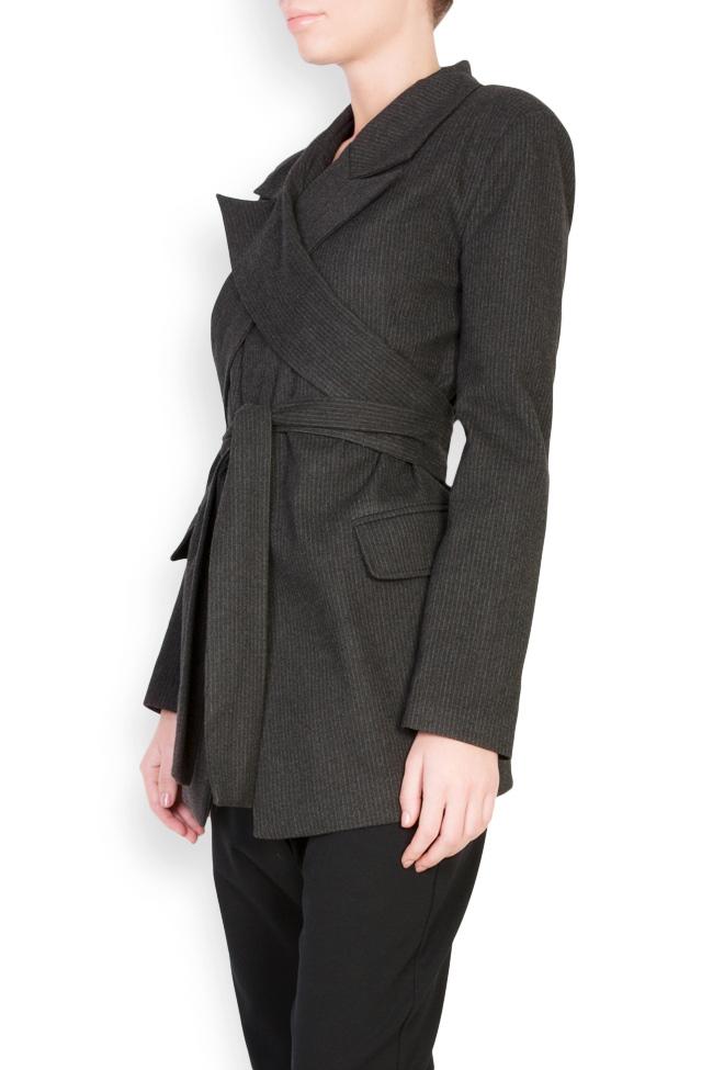 Belted wool blazer Bluzat image 1