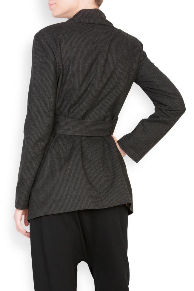 Belted wool blazer Bluzat image 2