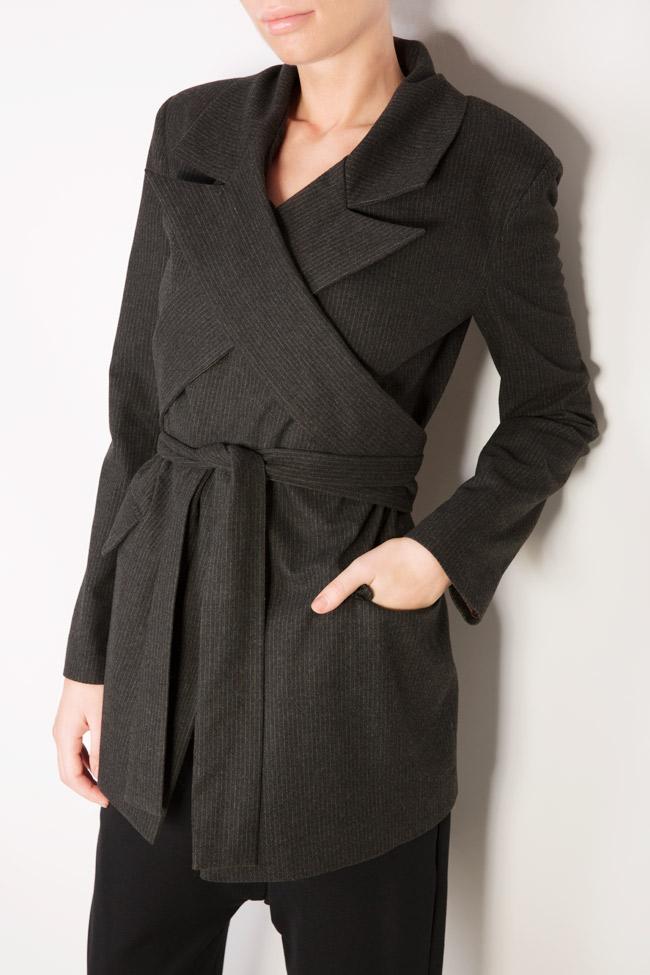 Belted wool blazer Bluzat image 3