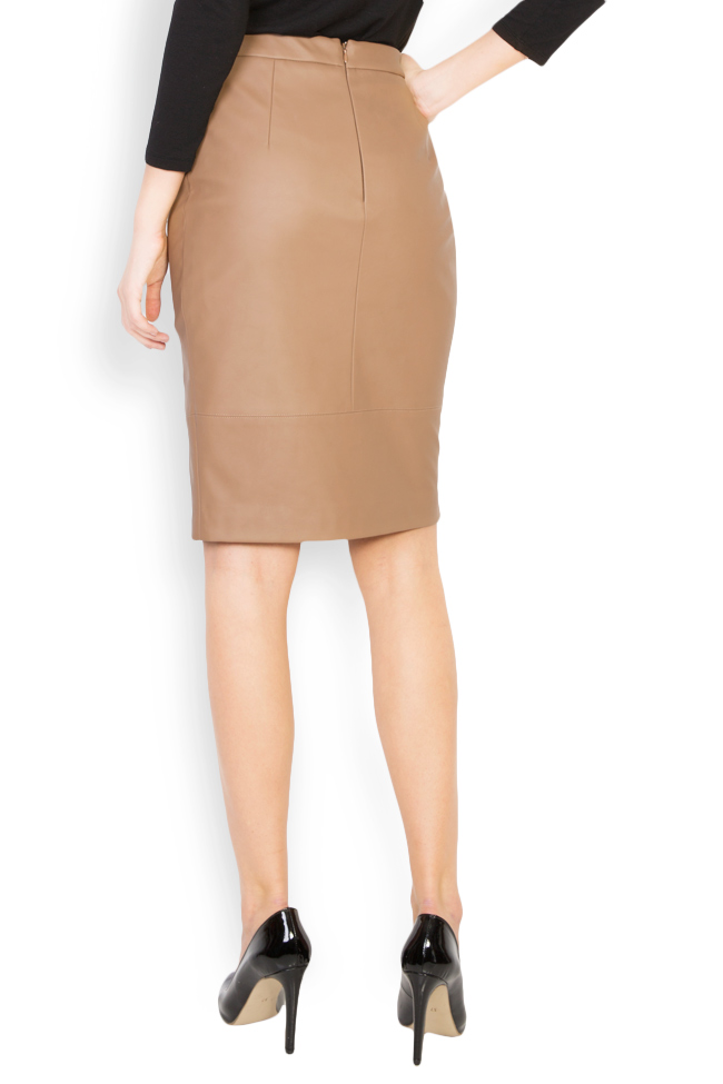 Faux leather midi skirt Acob a Porter image 2