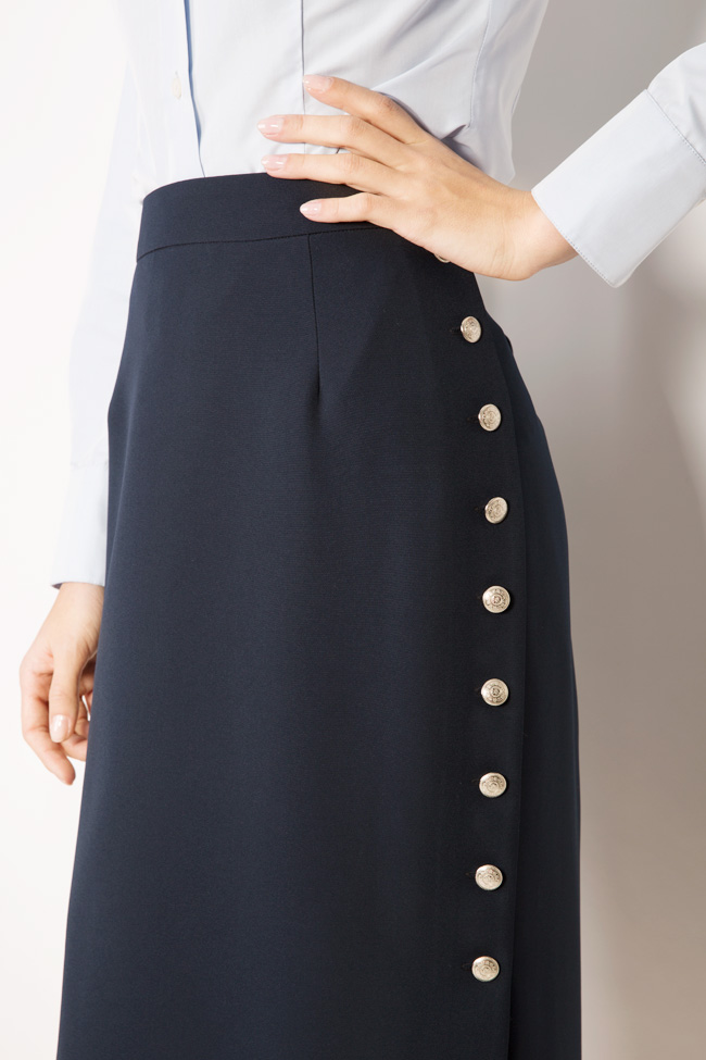 Button-embellished midi skirt Acob a Porter image 3