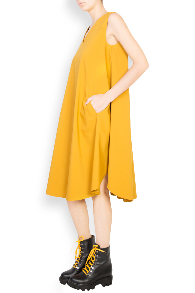 Cotton-blend oversized midi dress Undress image 1