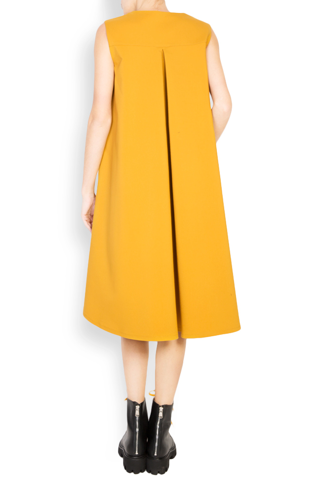 Cotton-blend oversized midi dress Undress image 2