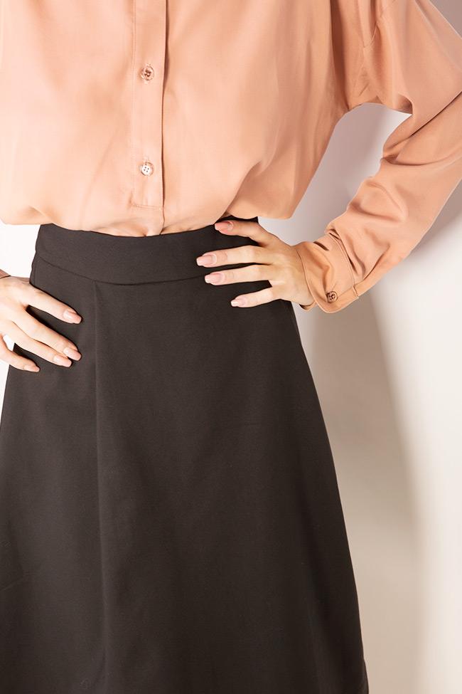 Jupe en mélange de coton avec poches Undress image 3