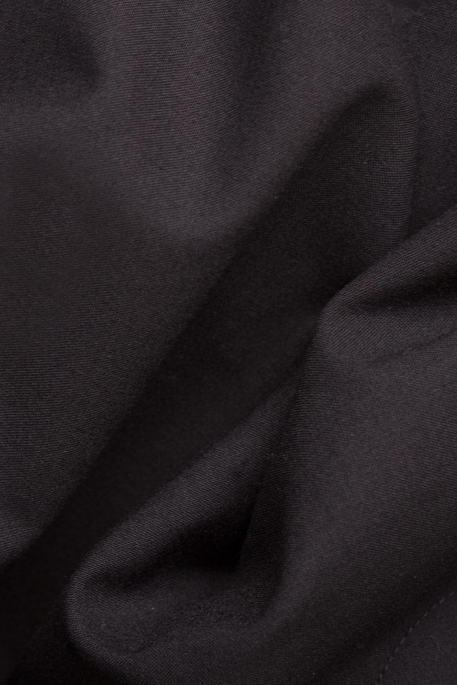 Jupe en mélange de coton avec poches Undress image 4
