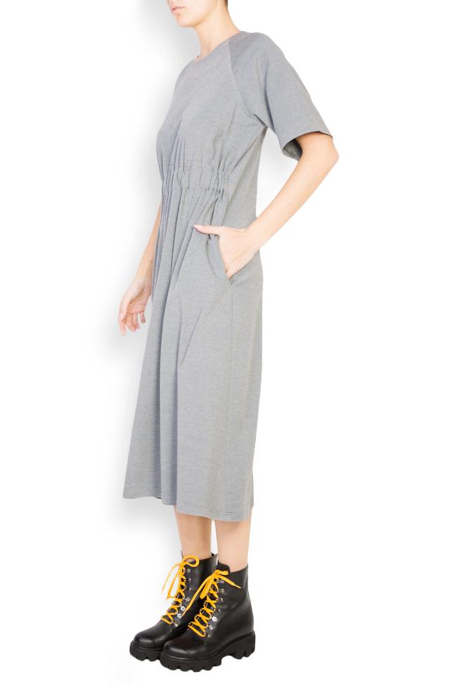 Rochie din crep cu elastic in talie Undress imagine 1
