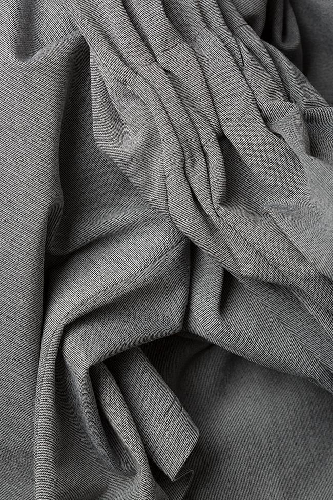 Rochie din crep cu elastic in talie Undress imagine 4