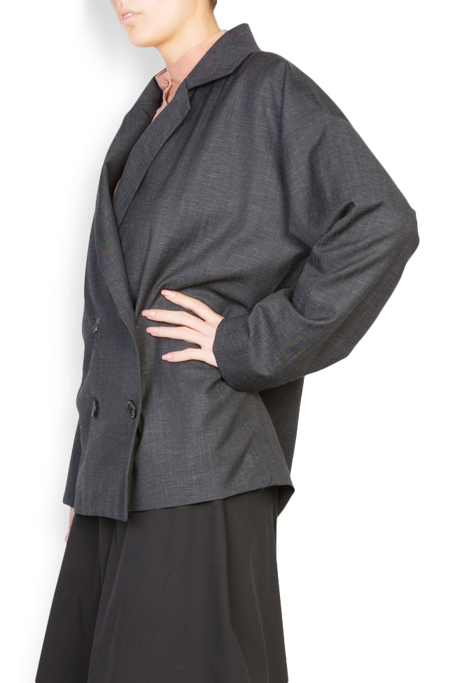 Double breasted wool blazer Undress image 1