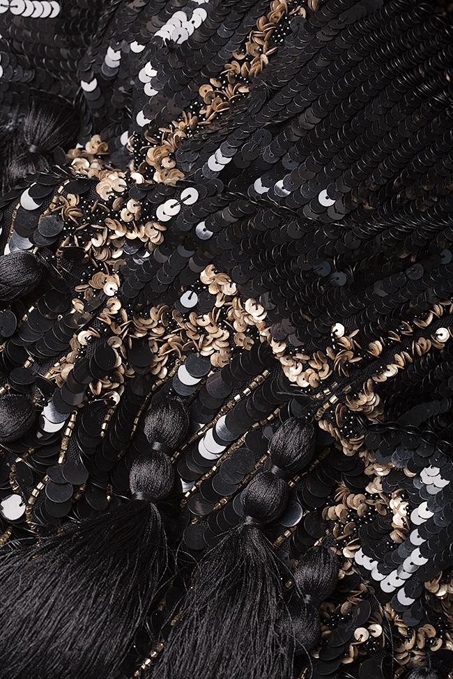Robe en tulle brodée avec sequins et  Aje Aester image 4
