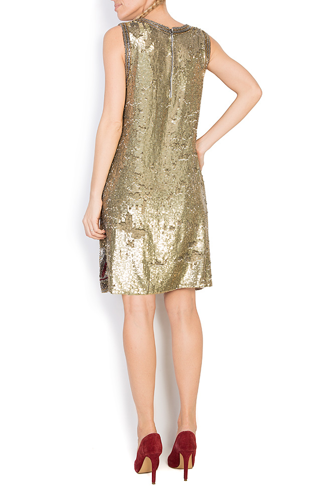 Embellished sequin mini dress Aje Aester image 2