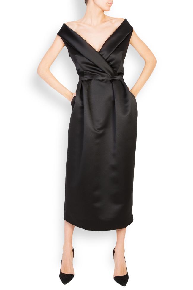 Ivone embellished duchesse midi dress  Mirela Pellegrini image 1