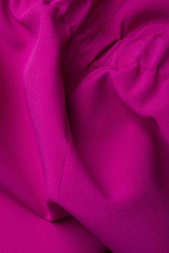 Rochie din crep cu buzunare Wonder Couture de Marie imagine 4