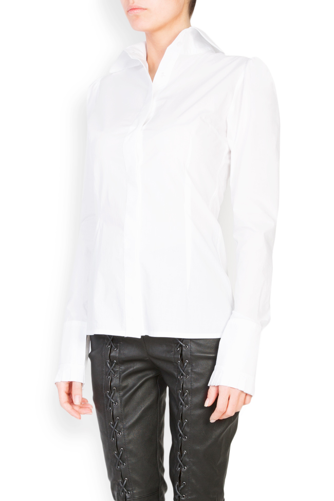 Cotton-poplin shirt LUWA image 1