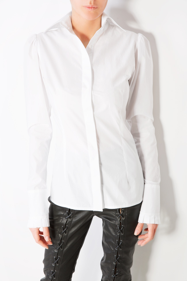 Cotton-poplin shirt LUWA image 3