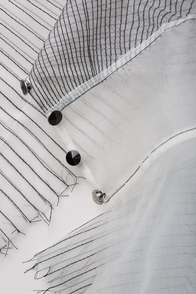 Silk organza top LUWA image 4