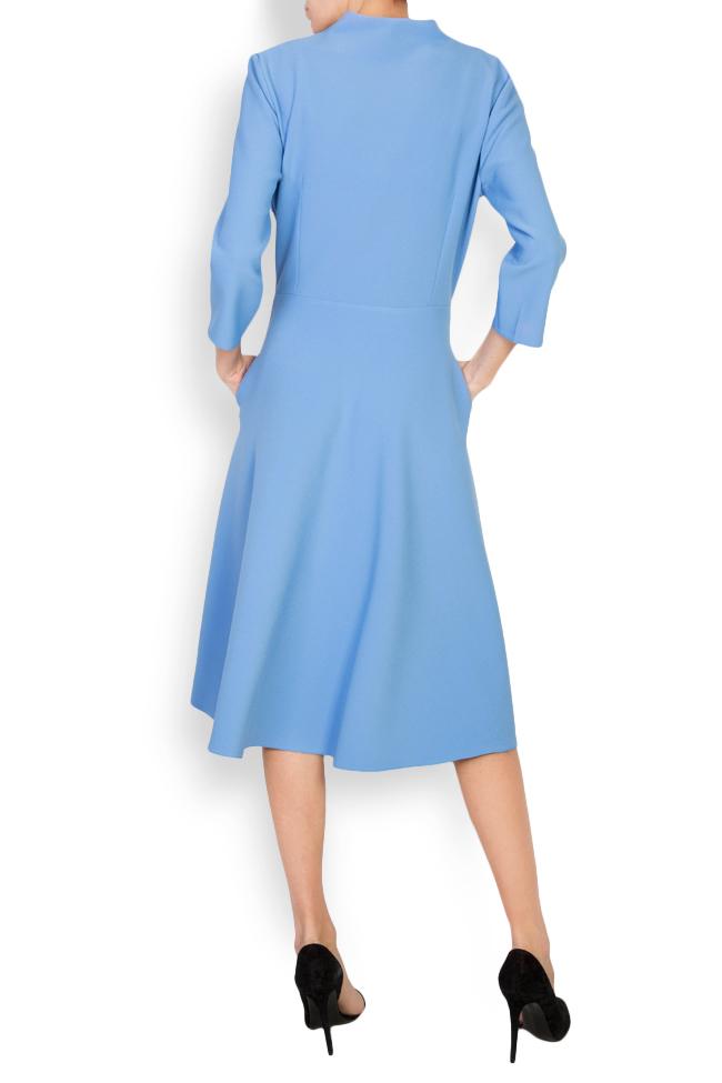 Trust wrap-effect crepe midi dress Couture de Marie image 2