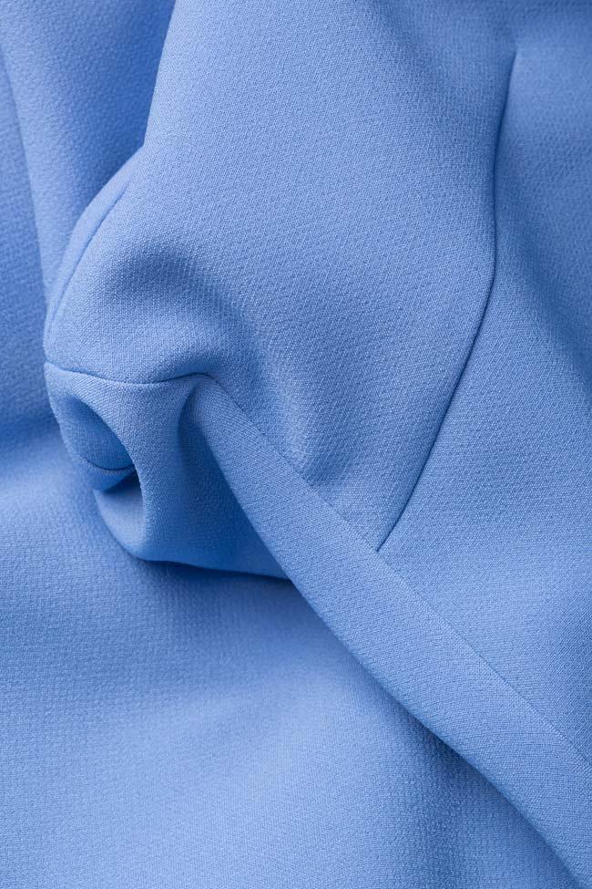 Trust wrap-effect crepe midi dress Couture de Marie image 4