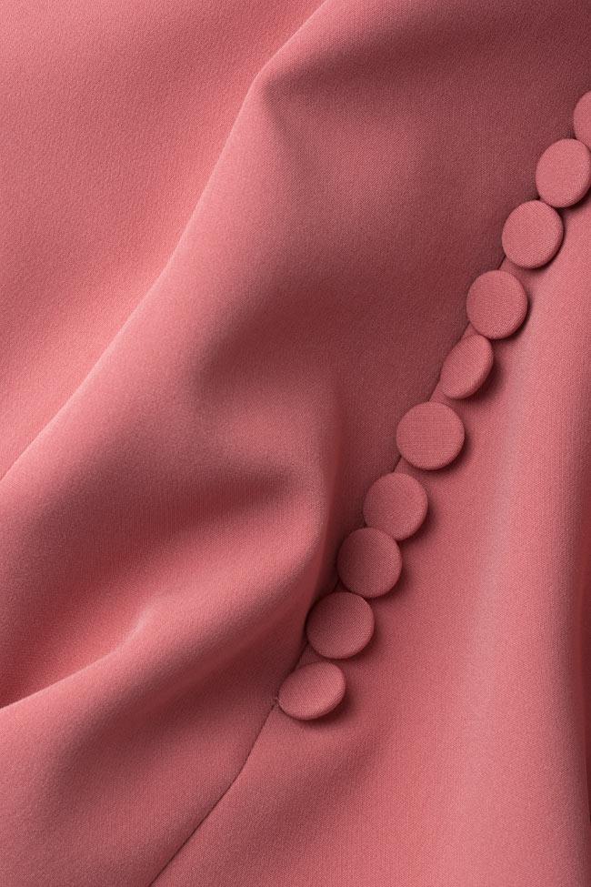Elara open-back tulle-paneled crepe gown Simona Semen image 4