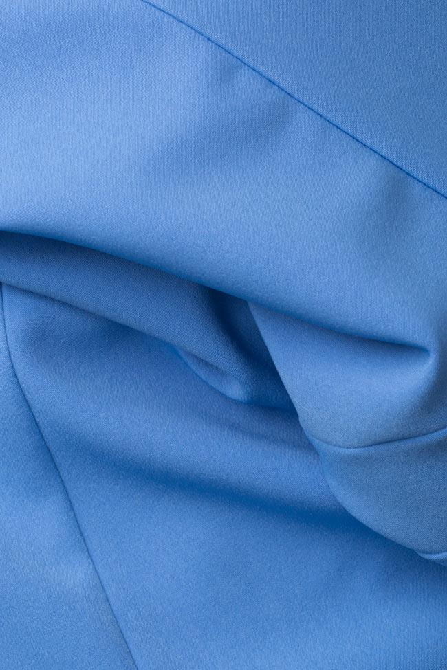 Eleanor ruffled stretch-crepe maxi dress Simona Semen image 4