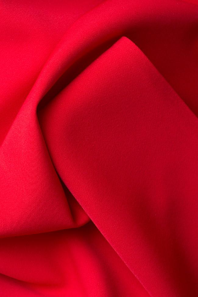 Eiza tulle-paneled crepe maxi dress Simona Semen image 4