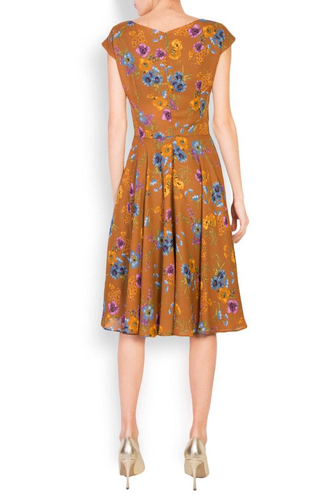 Floral-print midi dress Oana Manolescu image 2