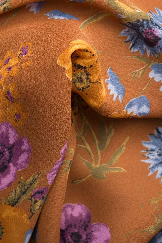 Floral-print midi dress Oana Manolescu image 4