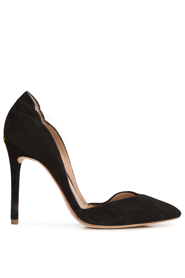 New Iconic velvet leather pumps Hannami image 0
